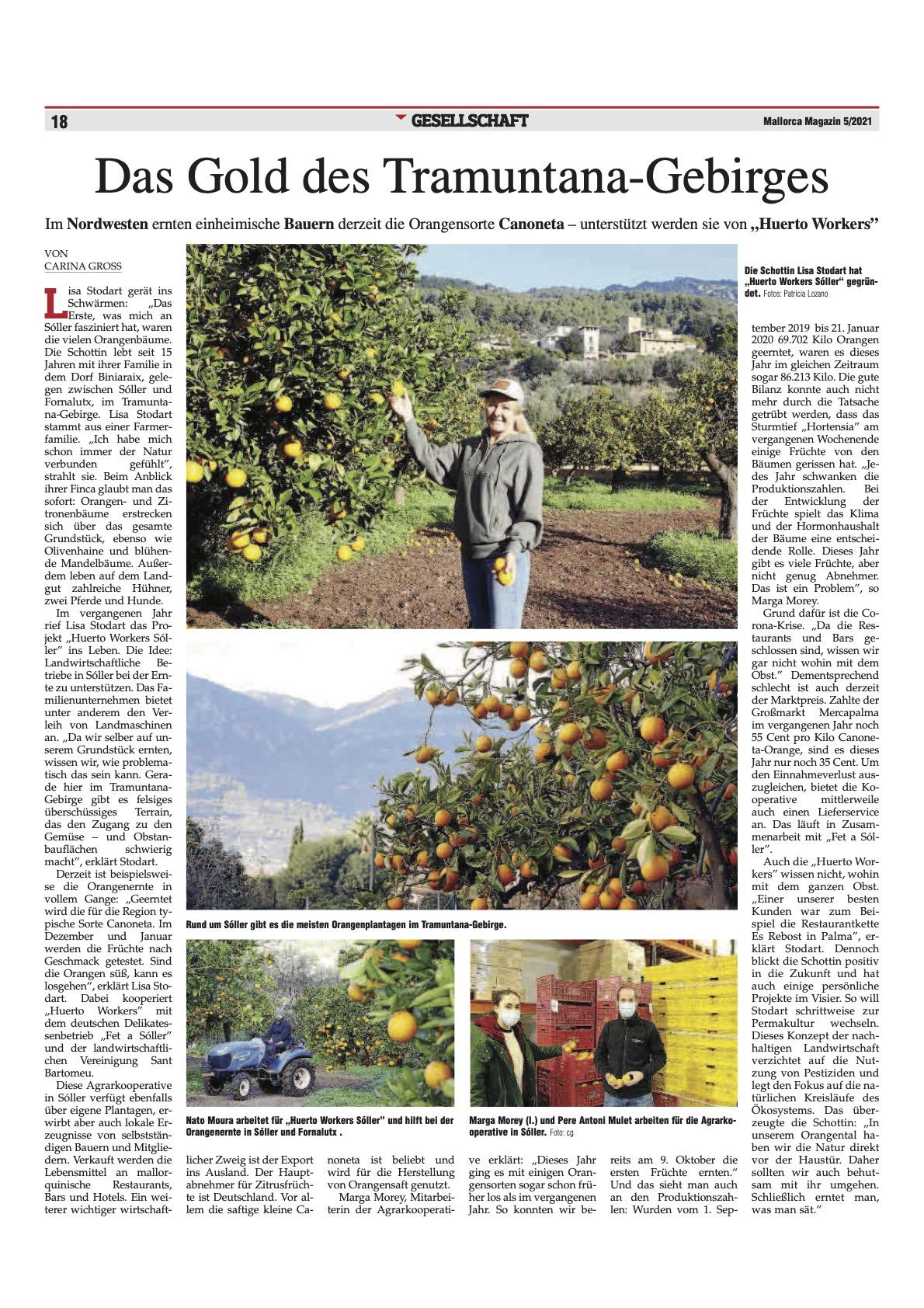 Mallorca Magazin Entrevista